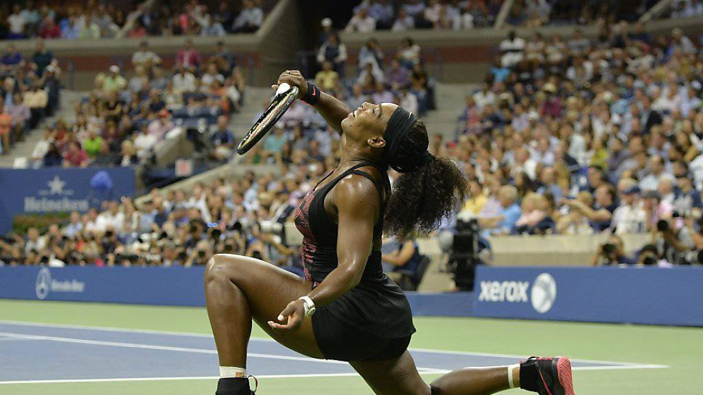 Serena Williams: Topfit und schnell auf den Beinen, wenn es um einen Handy-Dieb geht