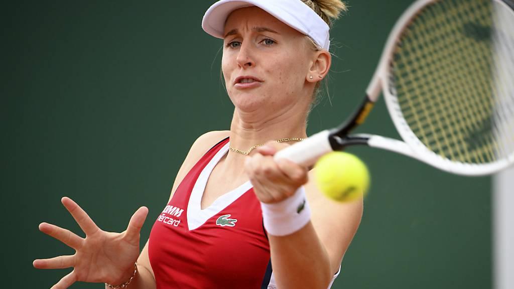 Jil Teichmann zieht am WTA-Sandturnier in Palermo in die 2. Runde ein