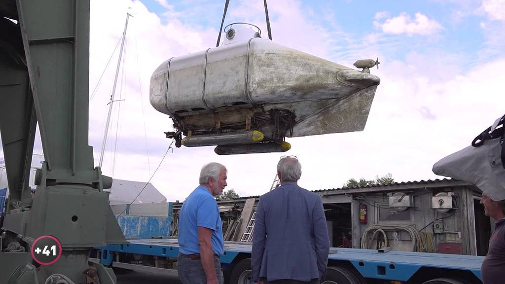 Mit dem einzigen U-Boot der Schweiz auf Unterwasser-Safaris