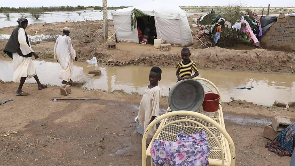 Überschwemmungen im Sudan: Mindestens 65 Tote in zwei Wochen