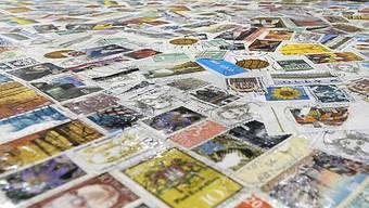 Die Swiss Stamp Show ist eröffnet (Archiv)