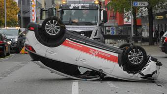 Unfall in Grenchen (9.11.2019)