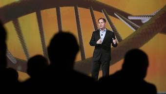 Firmenchef Michael Dell kann etwas aufatmen: Verlust hat sich verkleinert. (Archivbild)