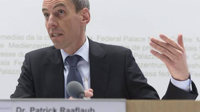 Patrick Raaflaub, Direktor der FINMA (Archivbild)