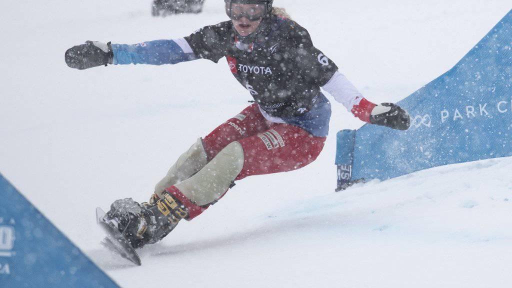 Gewann Anfang Februar an der WM in Park City Gold im Parallel-Slalom: Julie Zogg