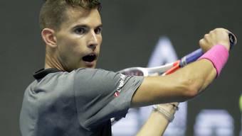 Souverän zum ersten Turniersieg in der Halle: Dominic Thiem in St. Petersburg
