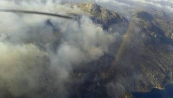 Waldbrand auf Mallorca