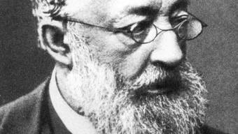 Gottfried Keller (1819 - 1890), Schweizer Schriftsteller und Staatsschreiber des Kantons Zürich