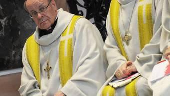 Churer Bischof Vitus Huonder (l., Archiv)