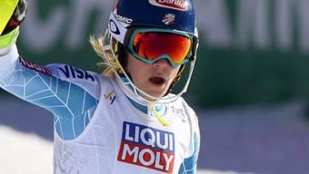 Die Amerikanerin Mikaela Shiffrin (20) musste Mitte Dezember für den Weltcup-Riesenslalom im schwedischen Are wegen einer Verletzung Forfait geben und stand seither nicht mehr auf Skis