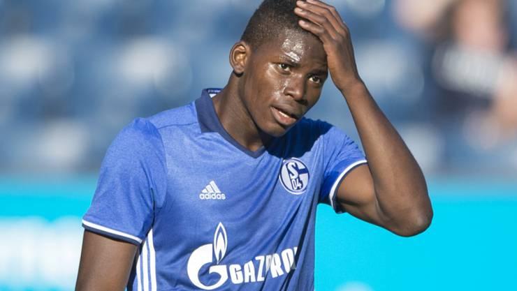 Breel Embolo fehlte beim 2:0-Sieg von Schalke gegen Mainz im Aufgebot