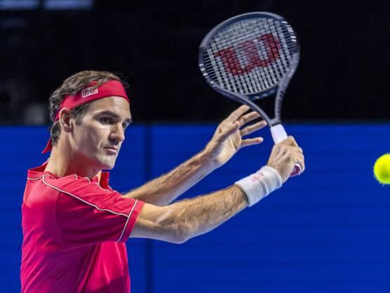 Wie aus einem Guss: Bei Roger Federer klappten alle Facetten seines Spiels.