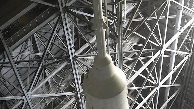 Die Rakete zwei Tage vor Start (Archiv)