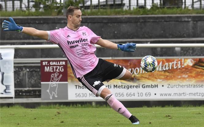 Yanick Hofer und der FC Muri sind derzeit erfolgreich unterwegs (Bild: Alexander Wagner)