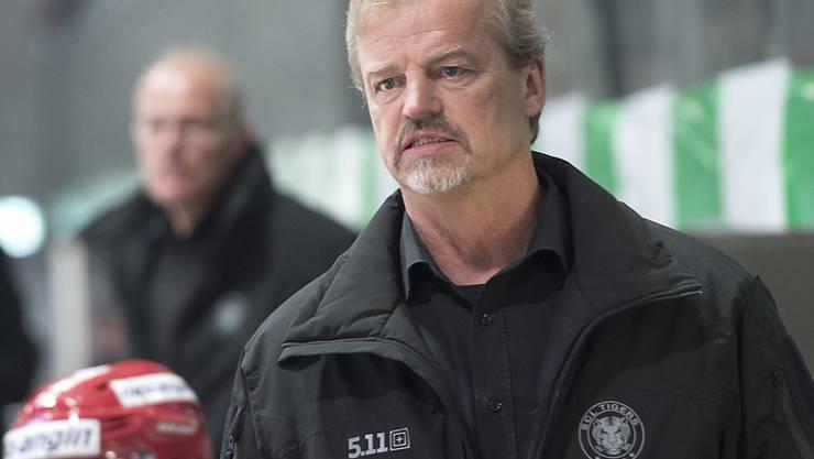 Feierte einen gelungenen Einstand als Trainer von Olten: Bengt-Ake Gustafsson (Archivbild)