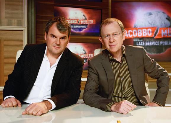 Mike Müller moderierte gemeinsam mit Viktor Giacobbo die SRF-Kultsendung «Giacobbo/Müller»
