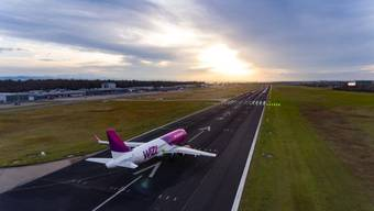 Der Bodensee-Airport Friedrichshafen musste letztes Jahr einen heftigen Einbruch verkraften.