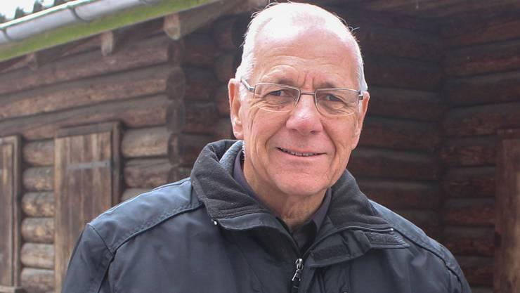 Sepp Frey war vor 20 Jahren Mitbegründer des Chlaushüslis Muri. hag
