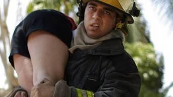 Israelischer Feuerwehrmann (Symbolbild)