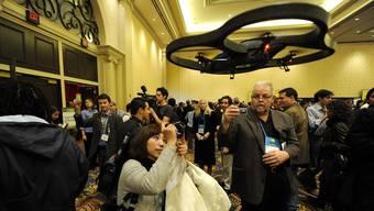 Die neue Drohne von Parrot in Aktion