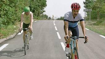 Es geht abwärts: Kyle (links) und Mike.