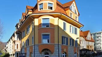 Das Haus an der Hardfeldstrasse 33 in Olten  ist seit August 2011 im Besitz der Stiftung Arkadis