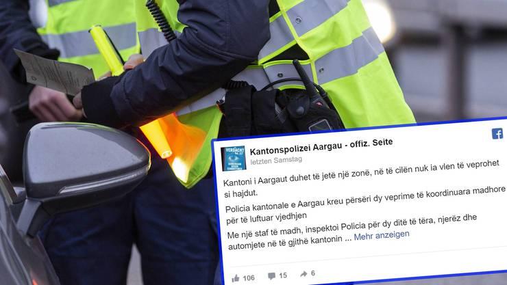 Die Kantonspolizei Aargau ist Einbrechern auf der Spur — und greift dabei zu bisher unbekannten Mitteln.