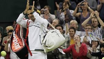 Roger Federer ist in Wimbledon sehr beliebt