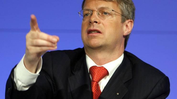 Peter Wuffli sitzt neu im Verwaltungsrat der Firma Sygnum (Archivbild von 2007).