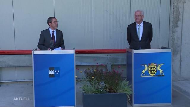 Ministerpräsident von Baden-Württemberg besucht Aargau