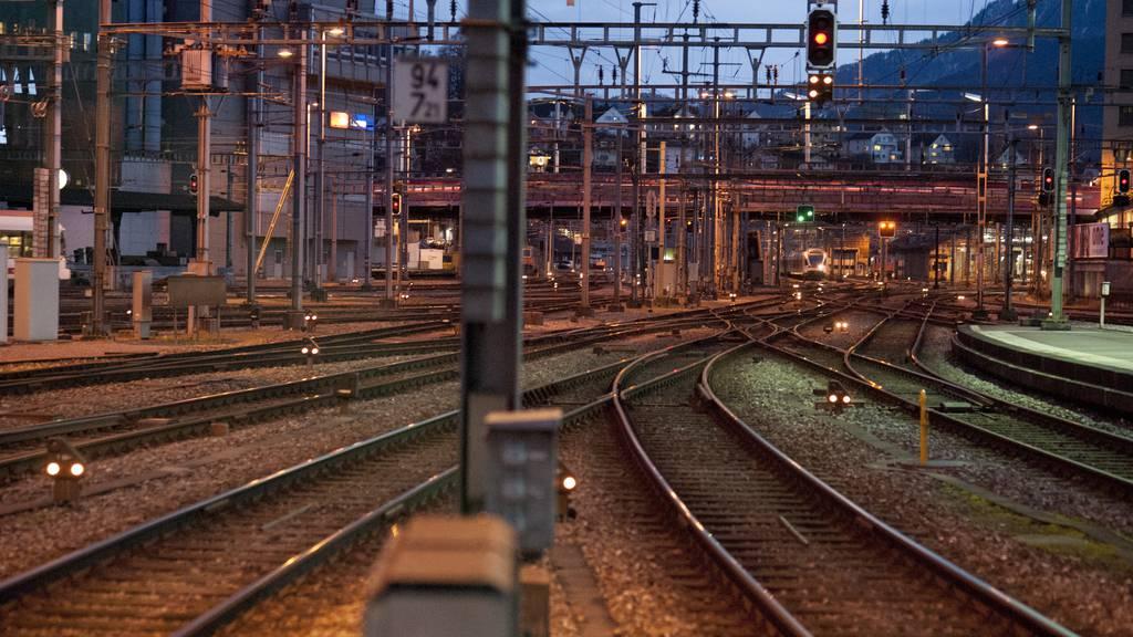 Stadt Luzern will den Durchgangsbahnhof thematisieren