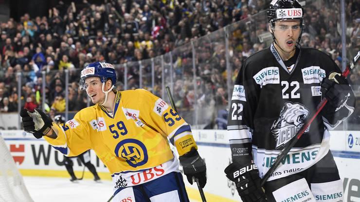 Der HC Davos schlägt die Nürnberger Ice Tigers in seinem zweiten Spengler-Cup-Spiel mit 3:2.