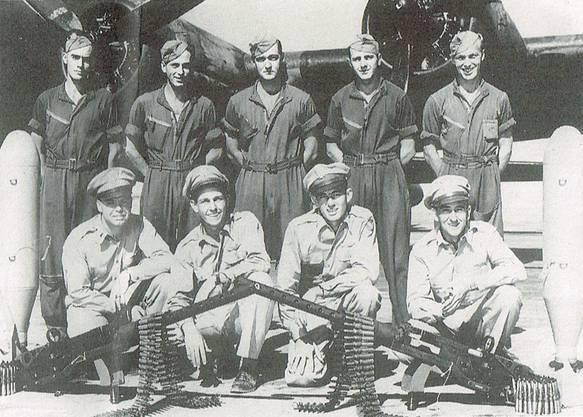 Die Mannschaft, die die Notlandung unbeschadet überlebte