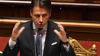 Der italienische Senat hat der neuen Regierung von Ministerpräsident Giuseppe Conte das Vertrauen ausgesprochen.