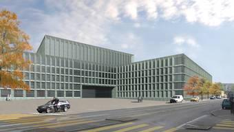 Visualisierung des PJZ-Gebäudes