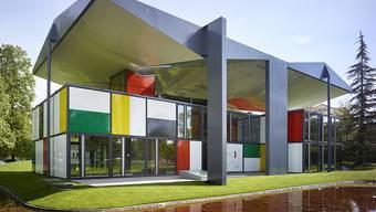 Nach seiner Instandsetzung ist der Pavillon Le Corbusier in Zürich ab Samstag wieder für Besucherinnen und Besucher geöffnet.