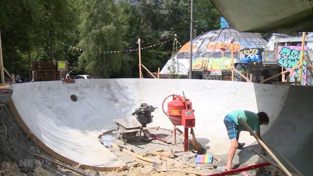 Neues Skate-Paradies im Gaswerk-Areal geplant