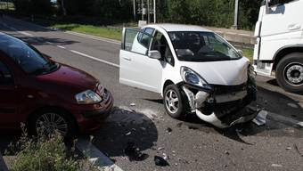 Unfall in Widen (Juli 2020)