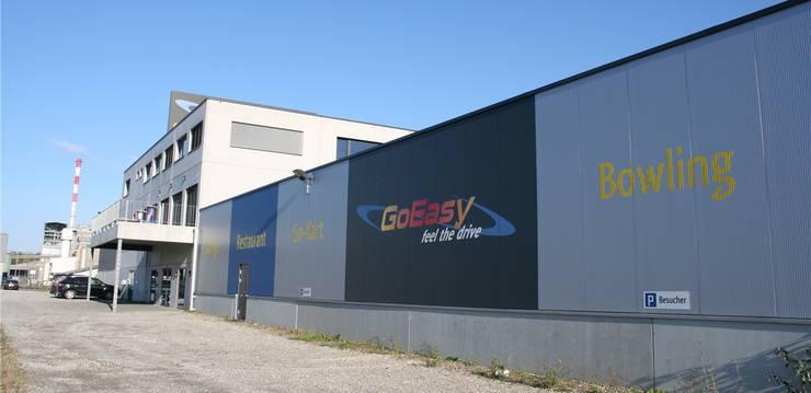 Die Go-Kart-Bahn des «GoEasy» wird zu zwei Sporthallen umgebaut