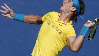 Auch Rafael Nadal steht in den Achtelfinals