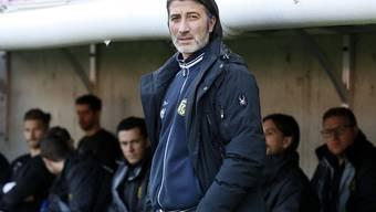 Mit Schaffhausen nach drei Runden der Challenge League noch ohne Verlustpunkt: Trainer Murat Yakin (Archivbild)