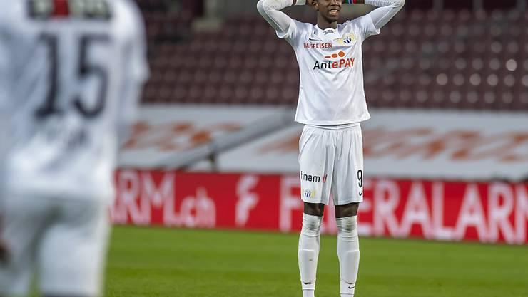Der FC Zürich mit Stürmer Assan Ceesay kassierte eine bittere Niederlage in Genf