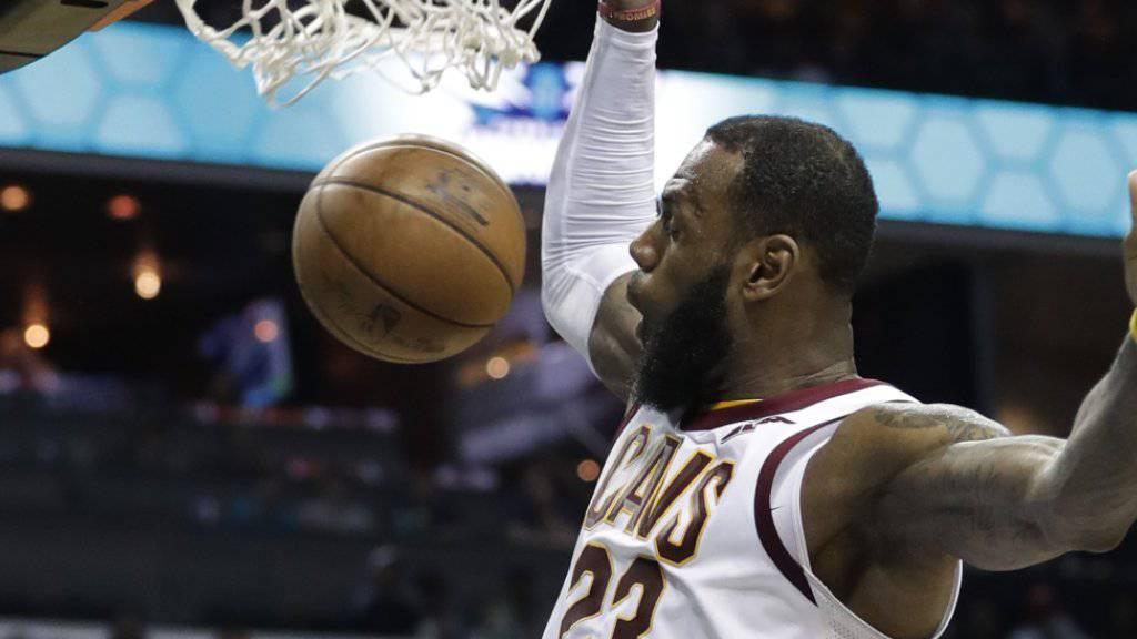 LeBron James ist auf Rekordkurs