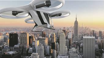 So sieht das Modell City Airbus aus, das der europäische Flugzeughersteller noch dieses Jahr testen will.