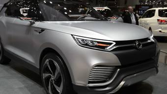 Die Marke Ssangyong gehört noch nicht zu den Verkaufsschlagern in der Schweiz: Seit Januar wurden aber immerhin schon 377 Fahrzeuge des hierzulande weitgehend unbekannten Herstellers aus Südkorea verkauft. Im Bild das Model XLV, das 2014 am Genfer Automobilsalon präsentiert wurde.