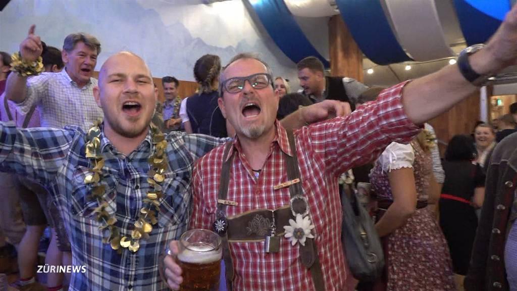 Oktoberfest gestartet: «In Zürich brennt das Bauschänzli!»