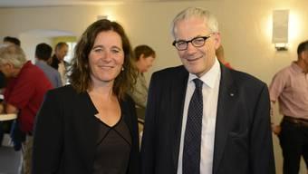 Franziska Roth (SP) und Kurt Fluri (FDP)