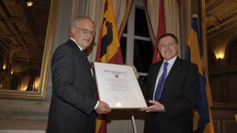 Ehrenbürgerfeier von Johann Schneider-Ammann