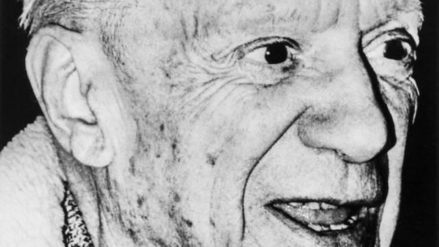 """Bemalte er auch die Rückseite seines """"Porträt der Mutter des Künstlers""""? Pablo Picasso (Archiv)"""