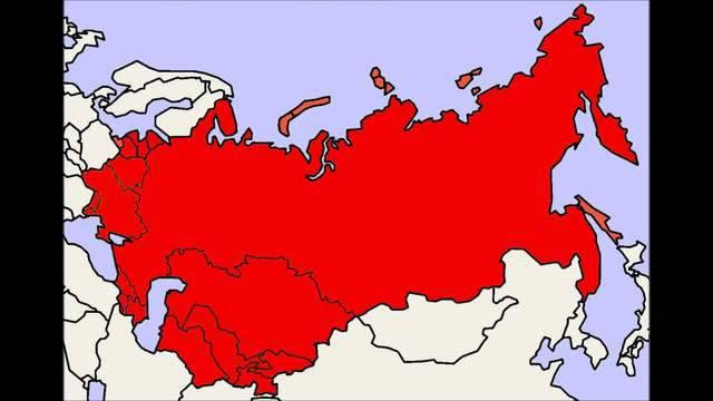 Zerfall der Sowjetunion: In dieser Reihenfolge erklärten die Staaten ihre Unabhängigkeit